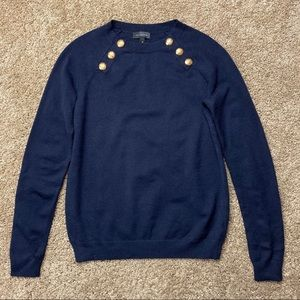 The Limited Navy Nautical Sweater XS